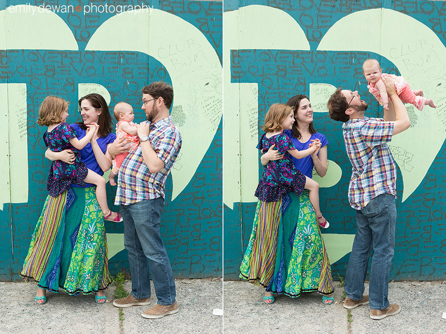 brooklyn new york family portraits