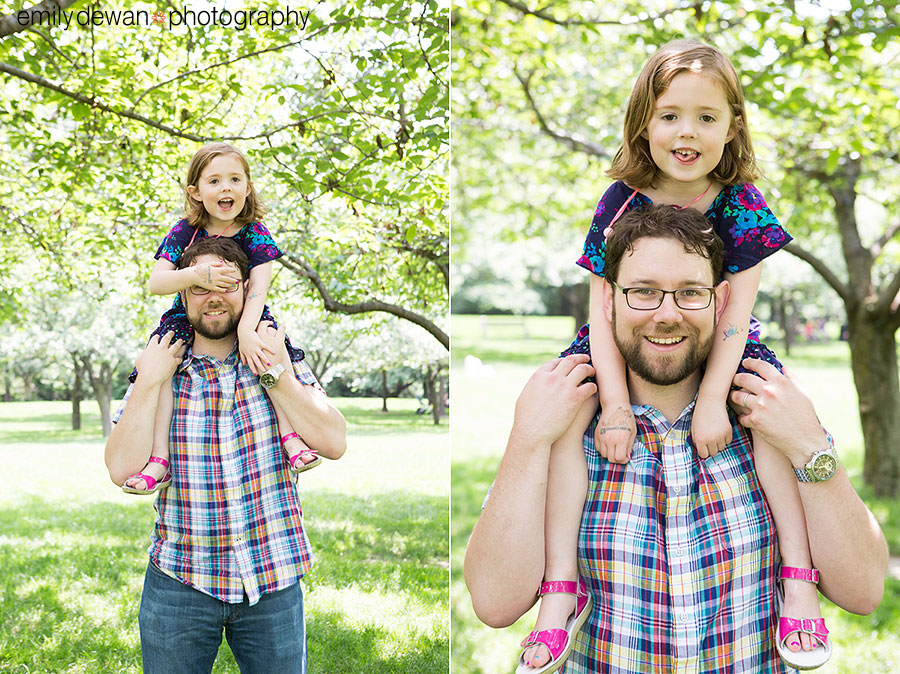brooklyn botanical garden new york family portraits