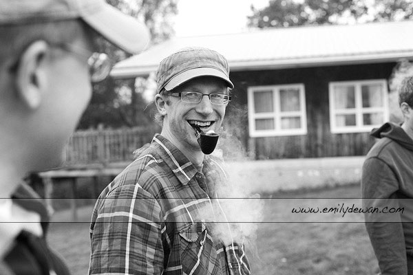 badger camp prairie du chien wisconsin pipe smoking