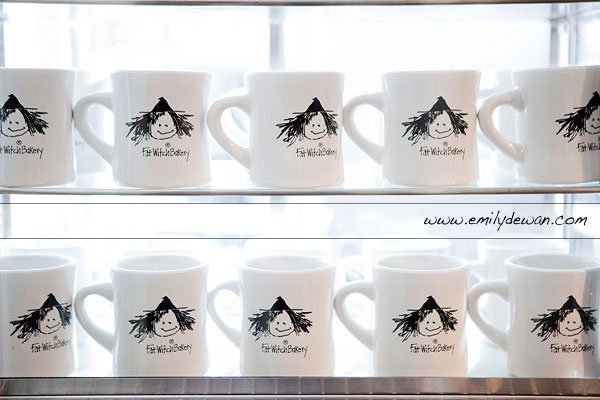 Fat Witches Bakery Chelsea Market New York City mugs