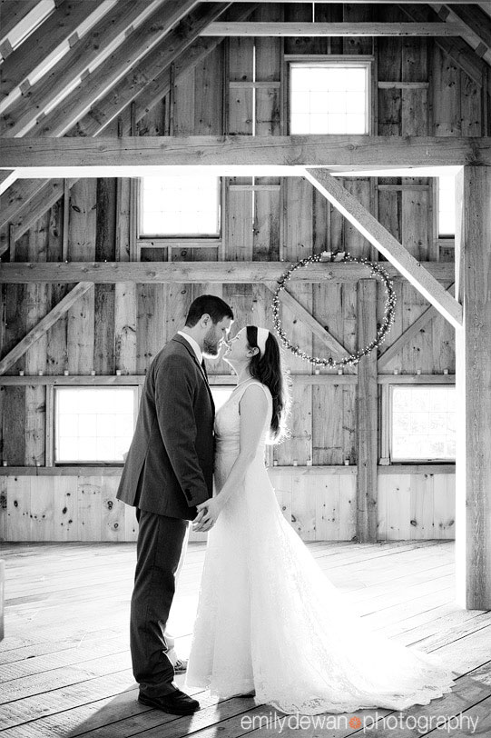 New Gloucester Maine farm wedding portraits