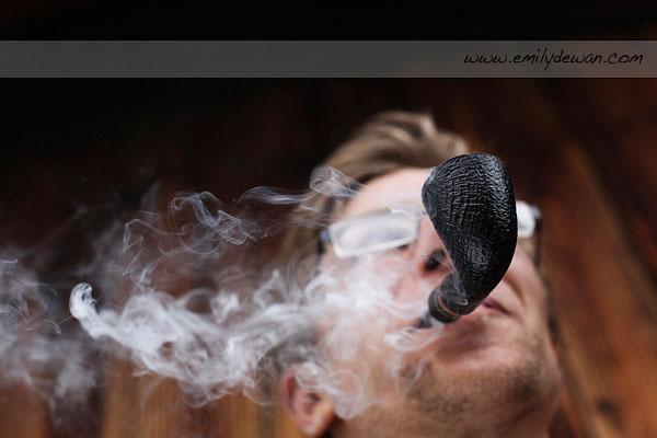badger camp prairie du chien wisconsin pipe smoking