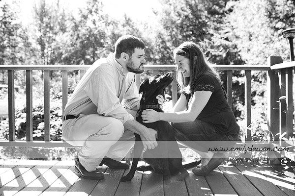 maine engagement portrait