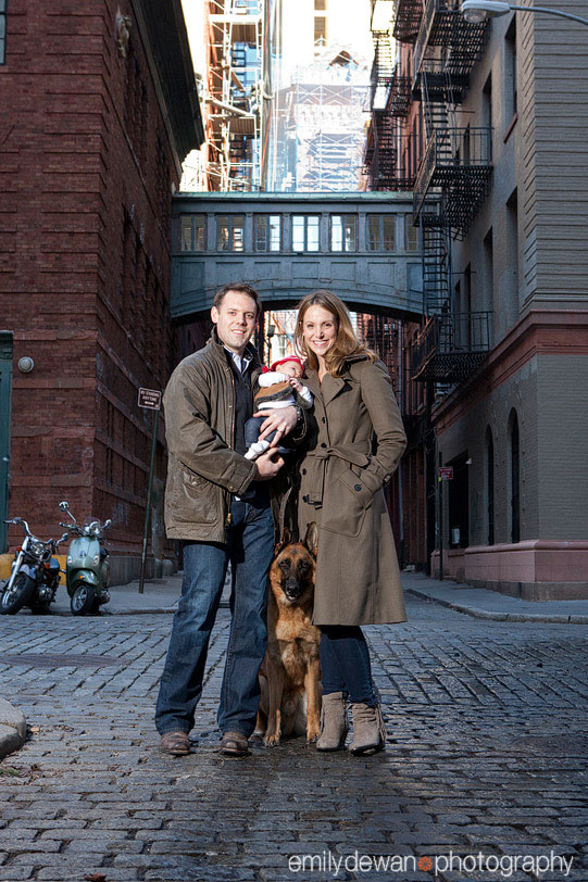 Tribeca Manhattan Baby Family Portrait