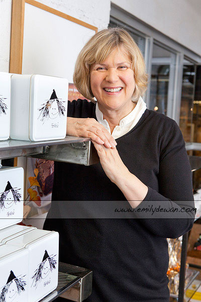 Fat Witches Bakery Chelsea Market New York City Patricia Helding portrait