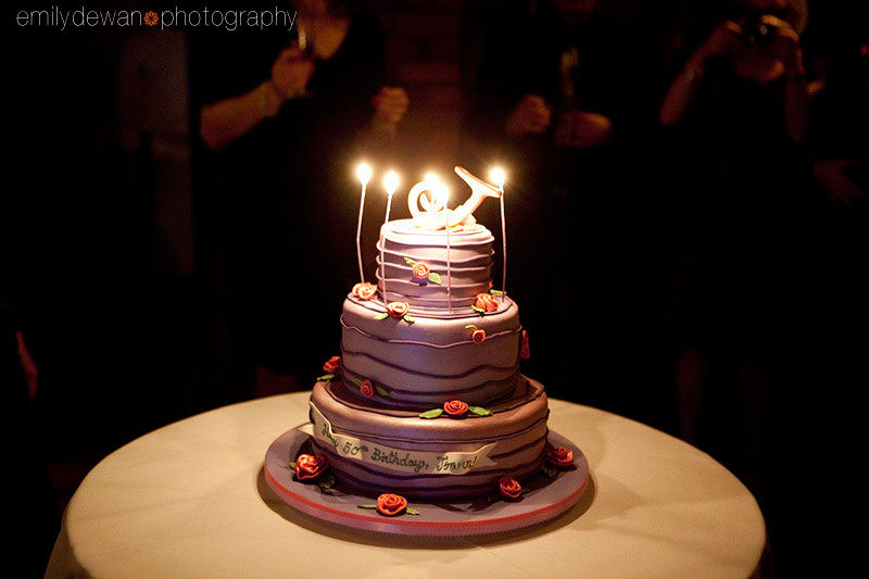 tribeca grill cake 50th birthday party new york city