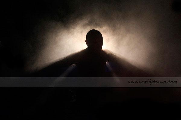 badger camp prairie du chien wisconsin silhouette steam