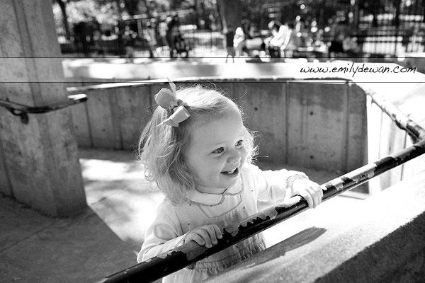 central park toddler children portrait