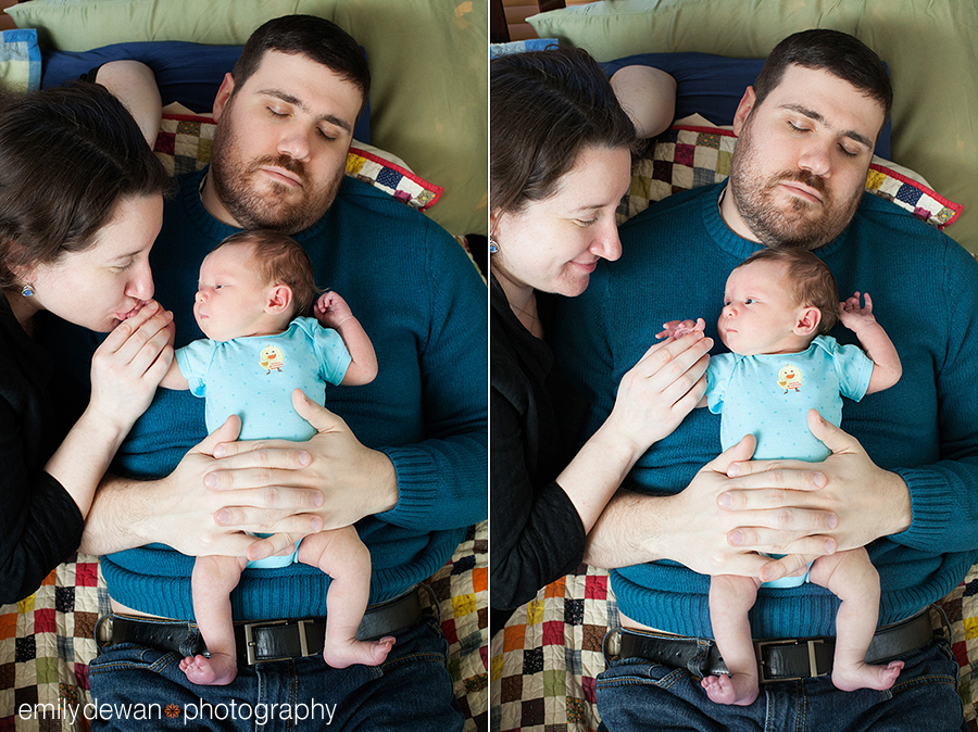 maine newborn baby portraits