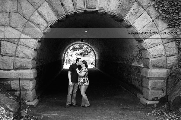 New York City Central Park Engagement Session