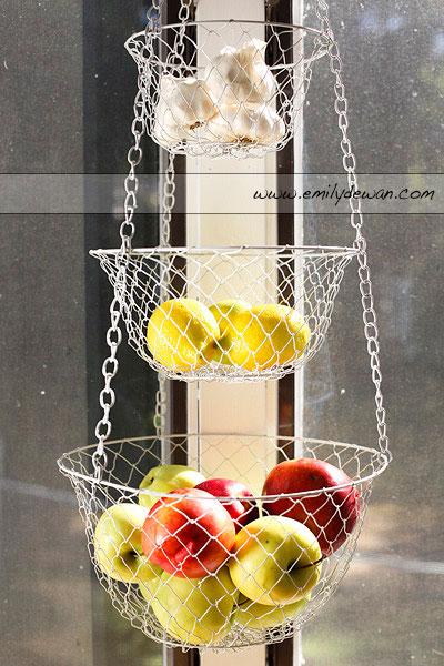 Attractive Maine Fruit Hanging Basket