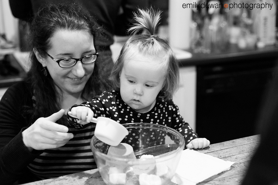 maine cookie baking documentary day in the life toddler