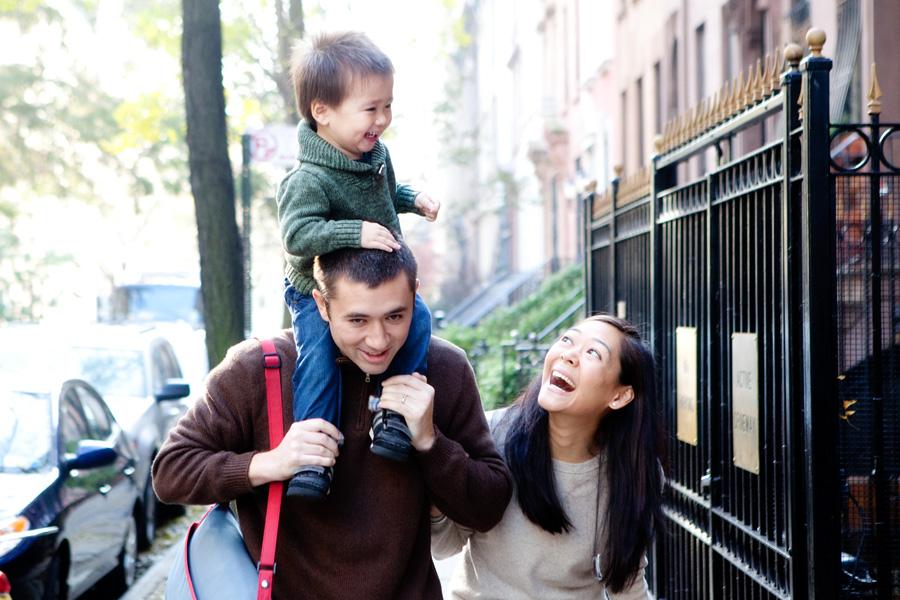 Upper East Side Family Portrait