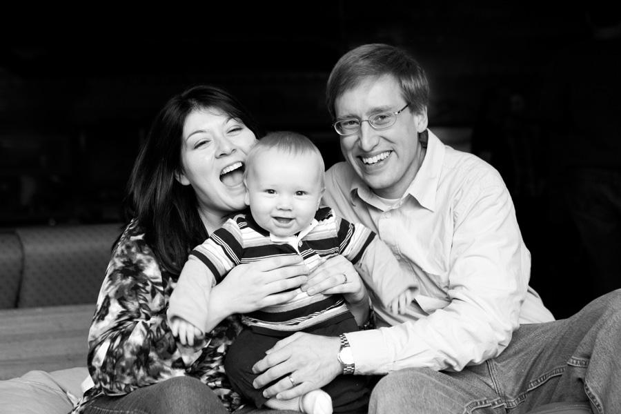 Phillip, Melissa, Fred : family portraits