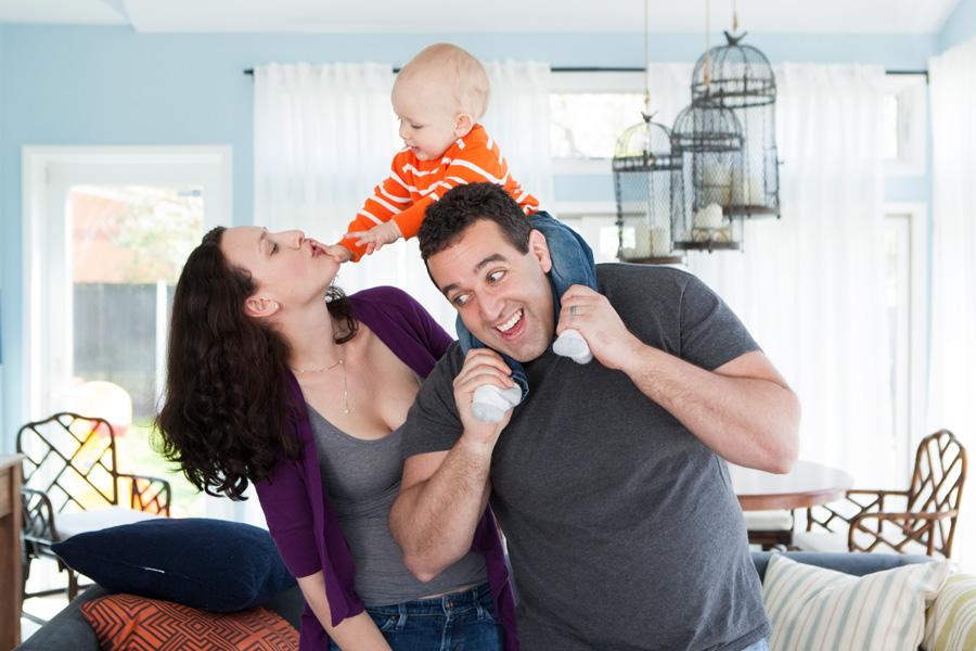 Salem Family: Shira, Eric, Max, Darth